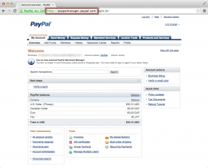 PayPal - Merchant Manager